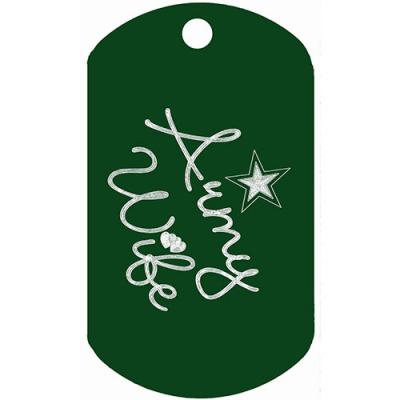 Army Wife Dog Tag T100 (5 PK)