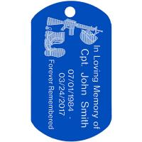 CUSTOM Memorial Dog Tag (5 PK)