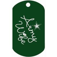 Army Wife Dog Tag T100 (EA)